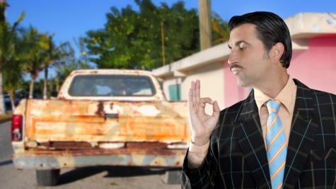 dodgy car dealer